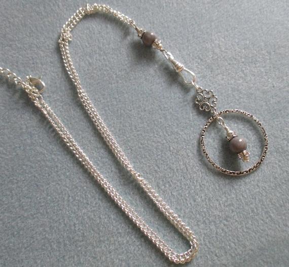 Malaysian Jade (Quartz) Convertible Lanyard Necklace L6151730