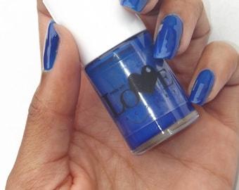 Dark Blue Nail Polish- Dark Denim