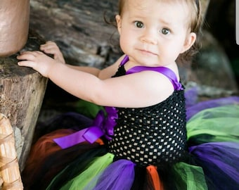 sc 1 st  Etsy & BABY WITCH COSTUME Ready to Ship Size 3-6 Month Baby Witch