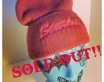 SOLD OUT* Scarlett Touque- Pink