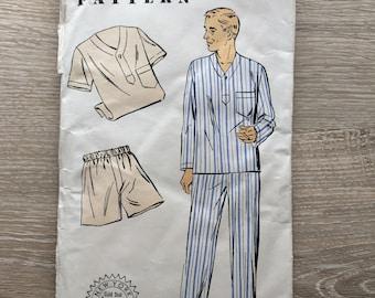 New York Pattern 1502 Men's Vintage Pajama Pattern