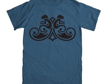 Monkey T-shirt - Denim Blue - Year of the Monkey T-shirt