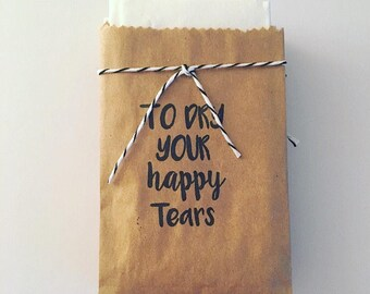To Dry Your Happy Tears Tissue Pack