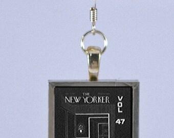 New Yorker Magazine Earring - 47 50 Doorways