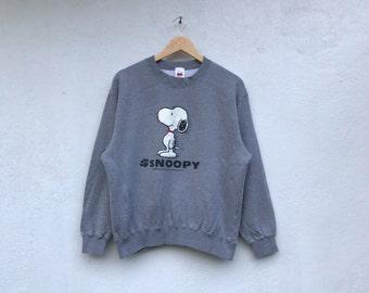 SNOOPY PEANUTS vintage cartoon sweatshirt