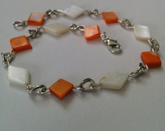 mother of pearl anklet