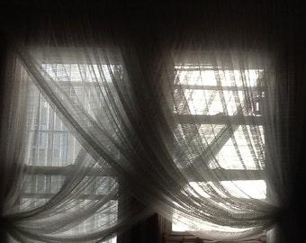 White rain lace