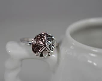 Sterling Silver Sand Dollar Ring