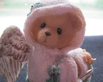 Deco Vintage Cherished Teddies, hark the Herald Angels Sing, England 1996, Priscilla Hillmann, very good condition