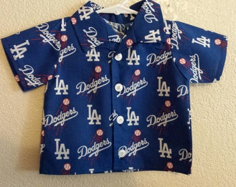 Dodgers shirt toddlers