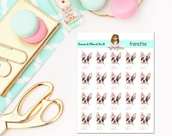 Frenchie Planner Stickers