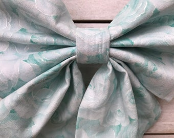 Something Blue Dog Bow Tie - Sailor Bow