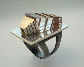 PROPORTION  RING. One Off.