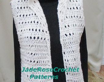 Crochet Vest Pattern, Crochet Casual Vest Pattern, Crochet Vest with Pockets Pattern, Crochet Women's Vest Pattern, Instant Download PDF2121