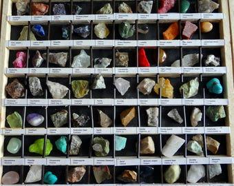 Rock Collection  Gemstones, Crystals, Opals, Rare Specimen, 3 Trays