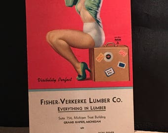 Advertising 1944 May Fisher-Verkerke Lumber Co. Grand Rapids Mi