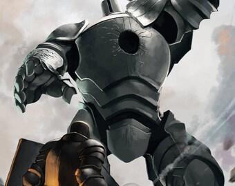 Iron Tarkus and the Iron Golem