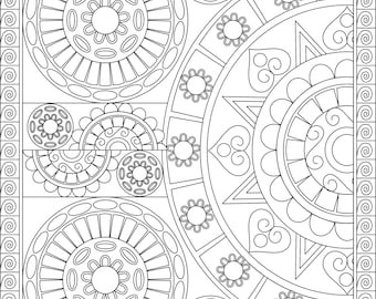 30 Patterns & Mandalas! (Volume 1) (Coloring Books, Coloring Pages, Adult Coloring Books, Adult Coloring Pages, Coloring Books for Adults)