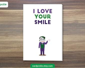 Joker card Etsy
