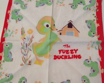The Fuzzy Duckling child's hanky