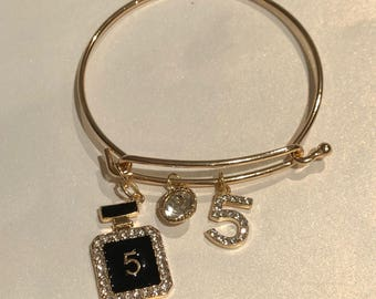 Our new charm bracelet, your choice. Scroll the pictures for your look.