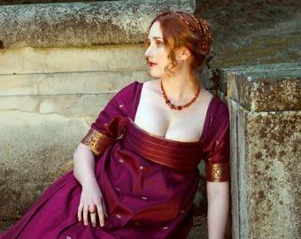 Vanity Fair regency gown