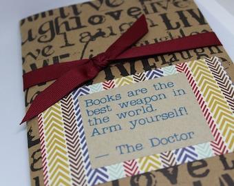 QUOTEBOOK - carnet de notes pour les lecteurs - inondent vos citations préférées!