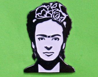 Frida Kahlo Portrait enamel pin