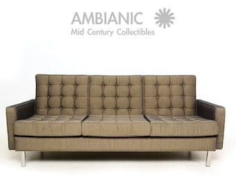 Mid-Century Modern Sofa after Florence Knoll, Eames, Nelson Era