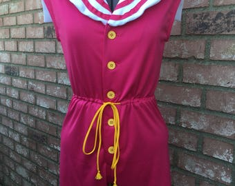 Sailor Guardian Pajama Romper