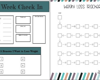 weight loss planner