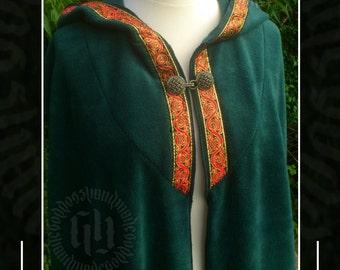 Full Length Cloak/Cape, Pagan, Druid, Ritual Magick, Ceremonial, Medieval, LARP, Renaissance, Elven,