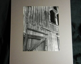 Spring Sale Vintage Original Professional Photographer Russian Architectural Photograph on Board