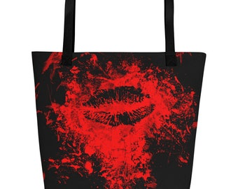 Kiss of Death Beach Bag