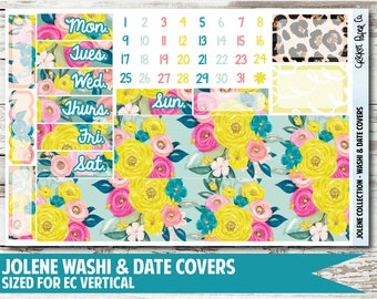 Jolene Date Covers & Washi Planner Stickers