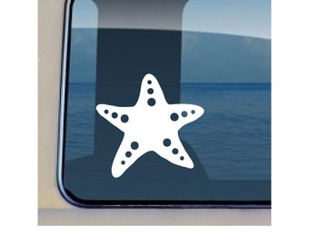 Star Fish Decal Ocean Sea Life Sticker - 107