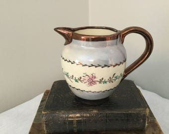 Lusterware Pitcher