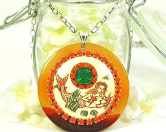 Mermaid Jewelry Marina - Nautical Necklace - Ocean Necklace - Mermaid Necklace for Women - Sea Siren Mermaid - Mermaid Gift - Boho -Fantasy