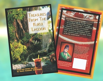 "Tiki Drinks (& Food) Recipe Book ""Treasures from the Kukui Lagoon """