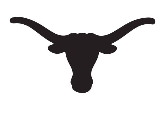 Texas Longhorn Stencil Made From 4 Ply Mat Board