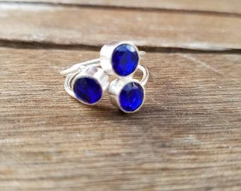 Sapphire Handmade Ring