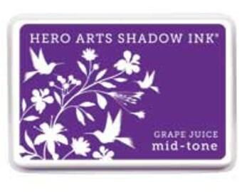 Hero Arts Grape Juice Mid-Tone Shadow Ink Pad AF227