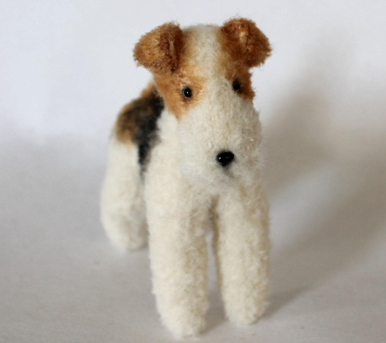 Wire Fox Terrier 16.5cm PDF dog sewing pattern