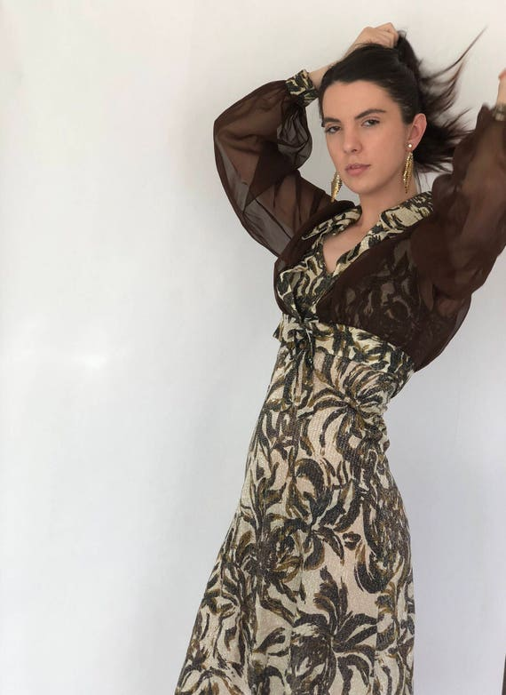 60s Wiggle Dress Cropped Cover Up