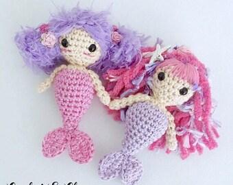 Mermaid Keychain ~ Amigurumi ~ Crochet Mermaid