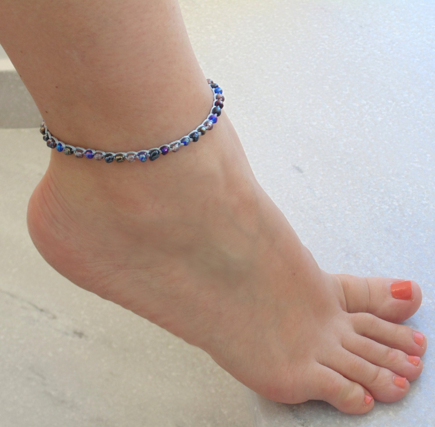 bracelets anklets can pin stones fine bracelet i ankle buy pastel where multi color so very anklet gold