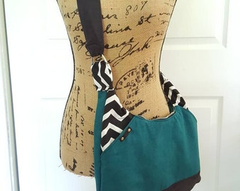 SAK Grocery Getter- Fashionista Crossbody hobo bag with zippered closure. Soft lightweight purse design.