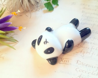 Pen Rest - Panda Calligraphy Straight/Oblique Dip Pen Holder