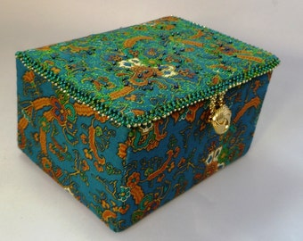 Liberty print trinket box