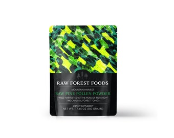Pine Pollen Powder (RAW) (500 Gram Pouch)